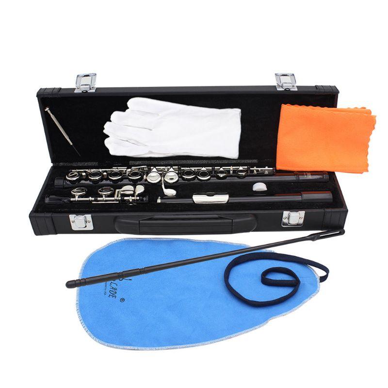 Флейта 16 отверстий C Ключ деревянный духовой инструмент с Прихватки для мангала мини отвёртки мягкий чехол