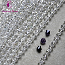 Free shipping Fashion Jewelry Beads wholesale Grade AAA 5301 6mm Crystal Bicone