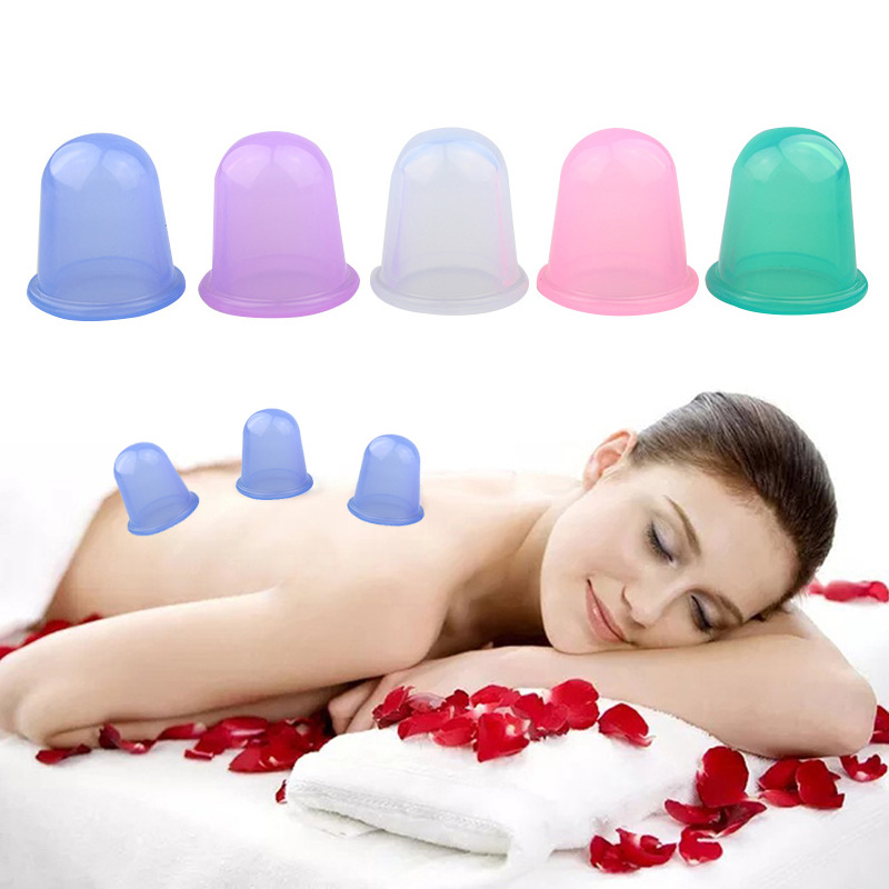 Silicone Cupping Cups Family Full Body Massage Helper Sillicone Anti Cellulite Vacuum Health Care 1pc family full body massage massgaer helper sillicone anti cellulite vacuum health care silicone cupping cups free shipping