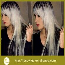 Virgin unprocessed 7A Brazilian hair human hair straight Brazilian virgin hair straight human hair ombre color  3 pcs lot