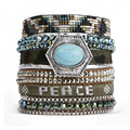 New Style Bohemia Summer HIPANEM Bracelet Handmade Beach Bracelet Magnetized Brazilian Glamour Jewelry Wholesale HIP224