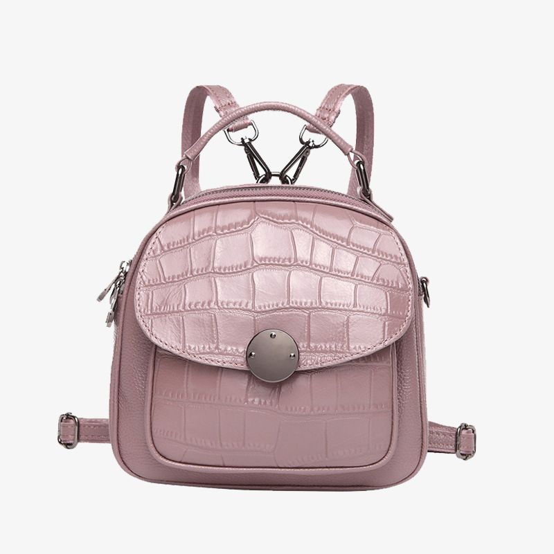 LOEIL Korean version of the first layer of leather shoulder bag female leather shoulder dual-use female bag trend small bag qiaobao 2018 new korean version of the first layer of women s leather packet messenger bag female shoulder diagonal cross bag