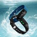 V07 Inteligente Pressão Arterial Pulseira SmartBand Smartwatch relógio Monitor de Freqüência Cardíaca Relógio De Fitness Sem Fio para IOS Android Phone