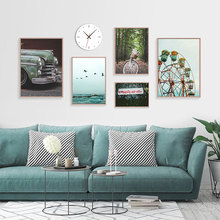Nature Scenery Pictures Wall Art Print Canvas Fashion Poster Sea Paintings For Living Room Wall Art Landscape Painting Unframed