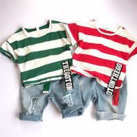 4a00d0b96dd141 Camisa Do Bebê Menino Vermelho Melhores ofertas