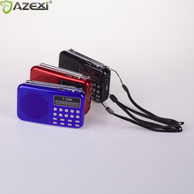 T-508 internet Receptor de radio digital portátil Mini Altavoz de Radio FM batería recargable apoyo SD/TFcard reproductor de música