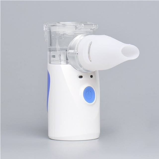 Inhaler Portable Nebulizer for inhalation Handheld Ultrasonic Steaming Devices medical equipment Baby Health Care Household 4