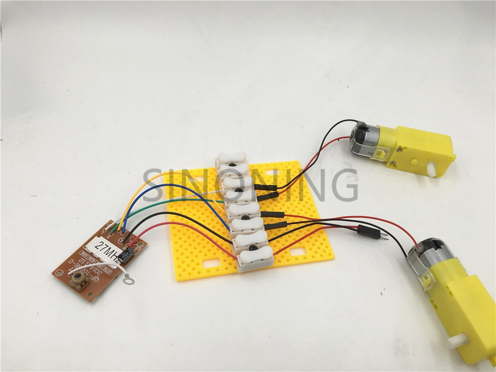 2PC Universal wiring board easy connector for electronic DIY model tool