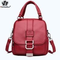 Fashion Sequin Backpack Female Brand Leather Backpack Women Luxury Designer Shoulder Bags for Women Backpacks Purse Sac Mochila