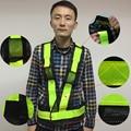 Alta Visibilidad Nocturna Trabajo Tráfico o Ciclismo de Seguridad Chaleco Reflectante de Seguridad