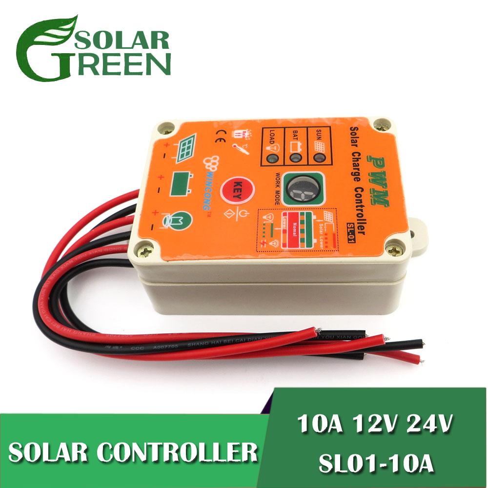 10A 24V 12V Solar Panel Charger Controllers Regulator LI-ION NI-MH LiFePO4 Battery charge Park Street Garden waterproof10A 24V 12V Solar Panel Charger Controllers Regulator LI-ION NI-MH LiFePO4 Battery charge Park Street Garden waterproof