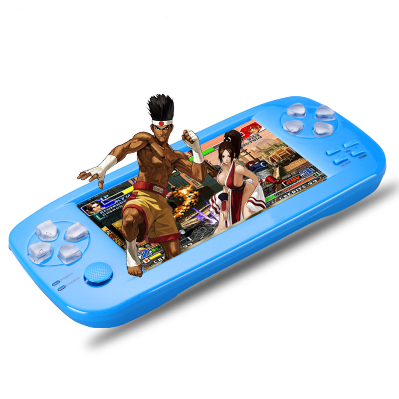 PAP K3 4.3 inch game console  Handheld Game Console 32 bit Portable Video Game Built in 653 Games Support CP1/CP2/NEOGEO/GBA 2 5 inch tft display handheld game player 8 bit video game