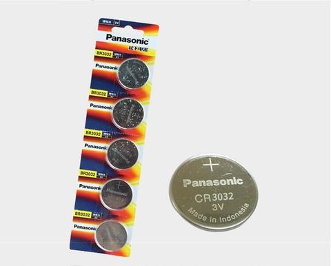 Original para Panasonic Botão de Célula tipo Moeda Elétrico de Controle Remoto de Alarme Lote Nova Bateria Br3032 Ecr3032 Dl3032 3v Carro br 3032 Baterias 8 Pçs –