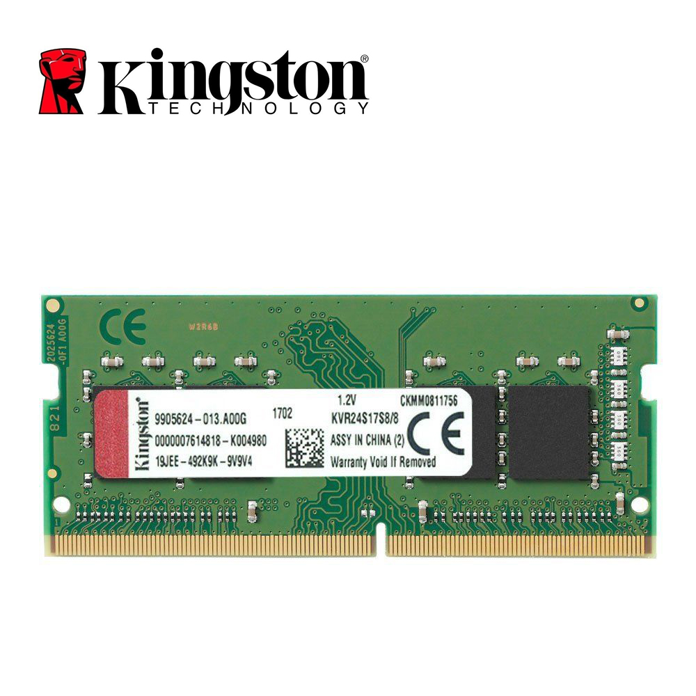 Kingston Memória RAM DDR4 8G 2400MHZ PC4-19200S CL15 260Pin 8GB para Laptop RAM