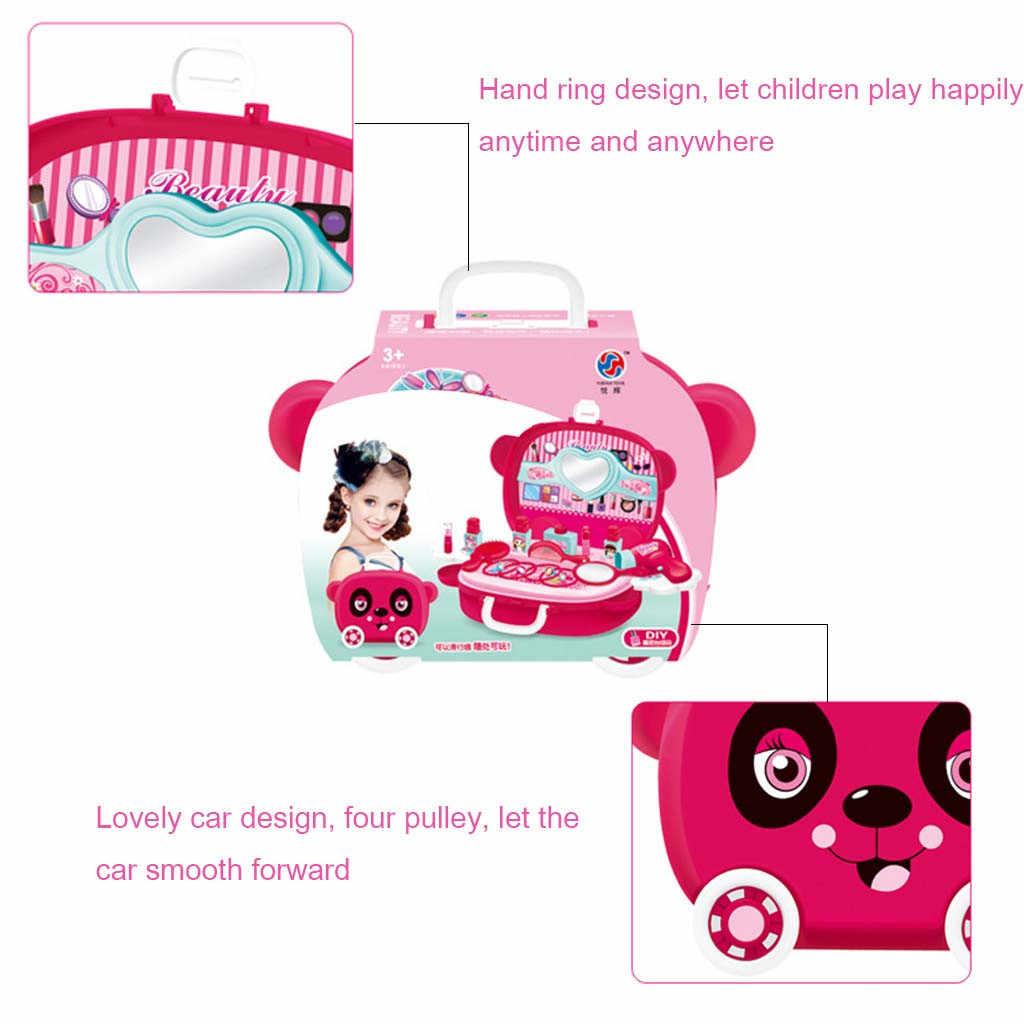 Игрушки для детей, мини-игрушка принцессы для девочек, игрушка для ролевых игр, косметический и макияж, набор для детей, веселые и развивающие, сделай сам, подарок