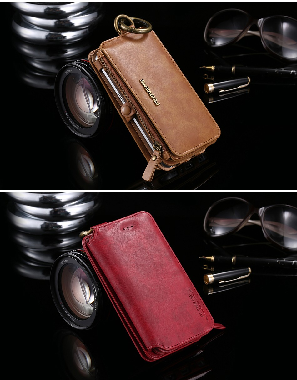 Retro Leather Wallet Case For Samsung Galaxy Note 7Note5Note 3Note 4 S7S6S6 Edge Plus Cover FlipCard Holder Capa Phone Bag (16)