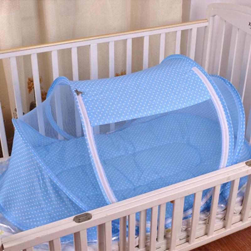 Adeeing складная детская анти-ошибка Москитная сетка манеж палатка с подушкой