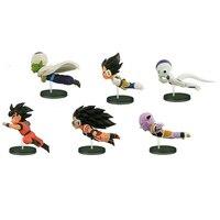 6ピース/セットアニメドラゴンボールzは歴史的のキャラクターwcfドラゴンボールpvcアクションフィギュアコレクション模型玩具人形ギフ