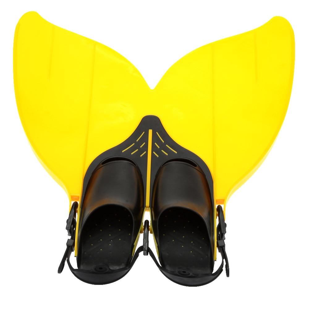 Kids Children Professional Scuba Diving Swimming Fins Short Flippers Snorkeling Shoes Free Swim Training Mermaid Flipper Monofin