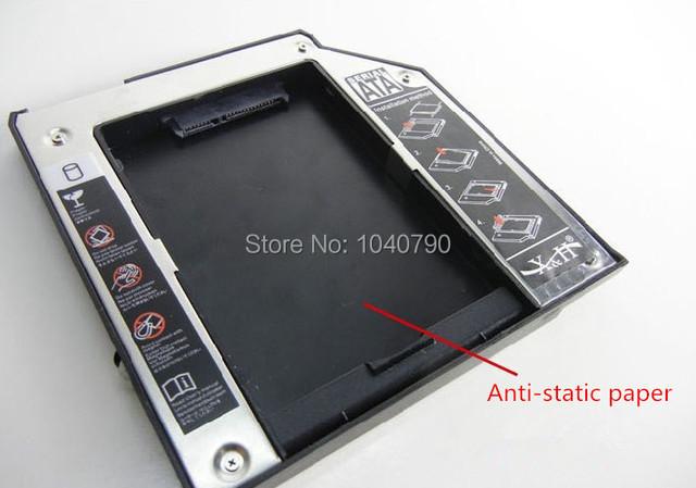 Frete Grátis Adaptador HDD Disco de Driver de Disco para 9.5mm Universal CD/DVD-ROM Liga suporte do disco