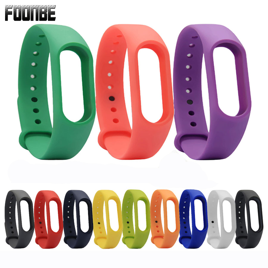 Original Colorful Silicone Wrist Strap Bracelet Replacement for Miband 2 for Xiaomi for Mi band 2 Wristbands 2 Foonbe Brand все цены