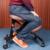 De la Rodilla diseño Ergonómico Silla de Cuero 2 Color Café/Negro Oficina Silla de Rodillas Postura Ergonómica Silla de Diseño