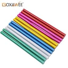 GOXAWEE 30Pcs 7mm/11mm Hot Melt Colorful Glue Sticks For Heat Glue Gun High Viscosity Glue DIY Craft Repair Tool Accessories