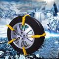 2017 Invierno 1 Unids Auto Universal Neumático de Nieve Cadena Antideslizante De La Rueda Camión Vehículo Fácil Instalación Herramientas Útiles