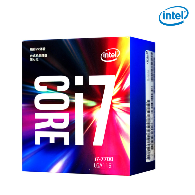<font><b>Intel</b></font>/ <font><b>Intel</b></font> <font><b>I7</b></font> <font><b>7700</b></font> quad core CPU boxed processor LGA1151 compatible B250 Z270 image