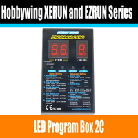 Hobbywing LED Program Box For Platinum Series Brushless ESC For RC Airplane And Helicopter Set The