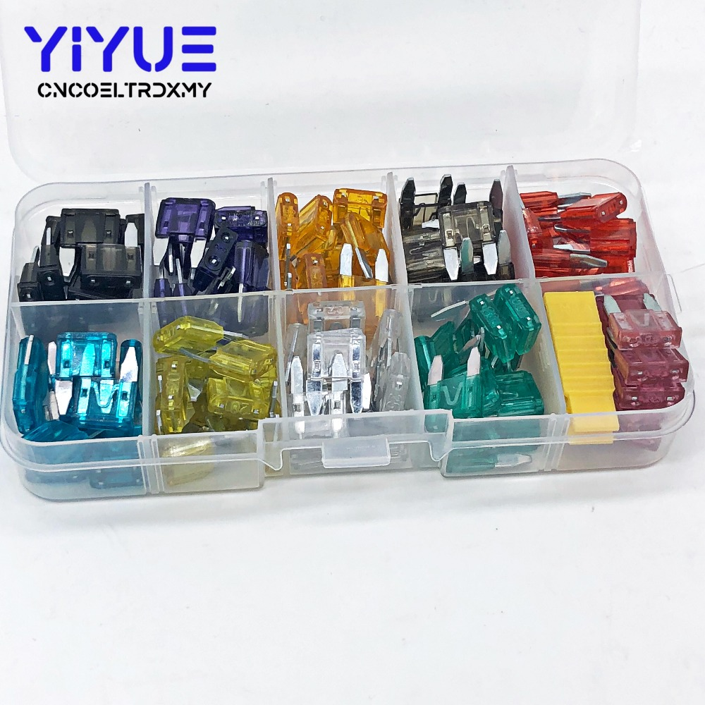 small resolution of 120pcs high quality car fuse box standard small fuse blade fuse box auto fuse car 2a 3a 5a 7 5a 10a 15a 20a 25a 30a 35a