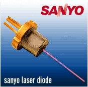 Sanyo DL-3147-265P 5 МВт 650nm 655nm dia. 5.6 мм TO18 красный лазер/Лазер диода LD