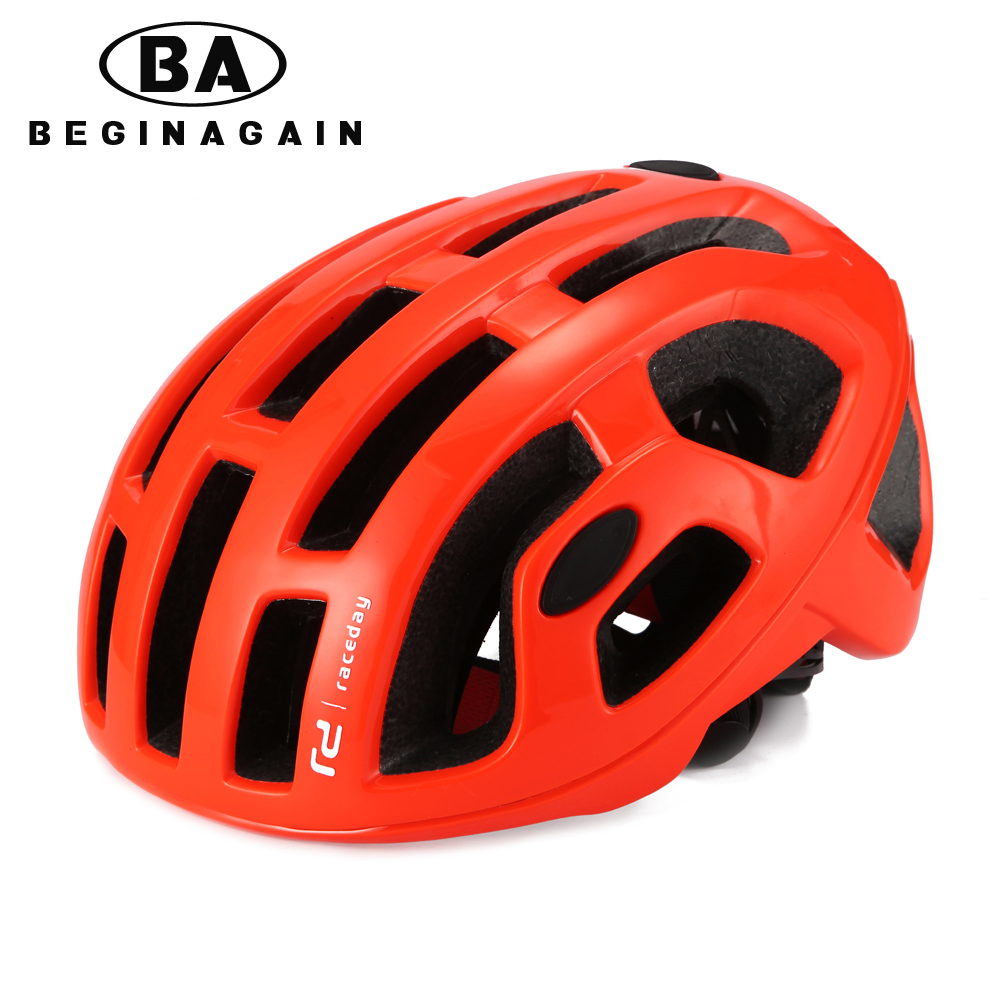 Lightweigh Aero Cycling Helmet Road MTB Mountain Hat Trail City Bike Helmets Safety Commuter Sport Adult EPS Bicycle Helmet