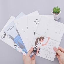 1pcs/lot Cute Korea Small Fresh Soft  32k Car line A5 notebook Min Diary Notebook Stationery Student Supplies
