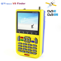 Genuine Digital Satellite Finder Gtmedia V8 Finder DVB S2 FTA Sat Finder 1080P High Definition