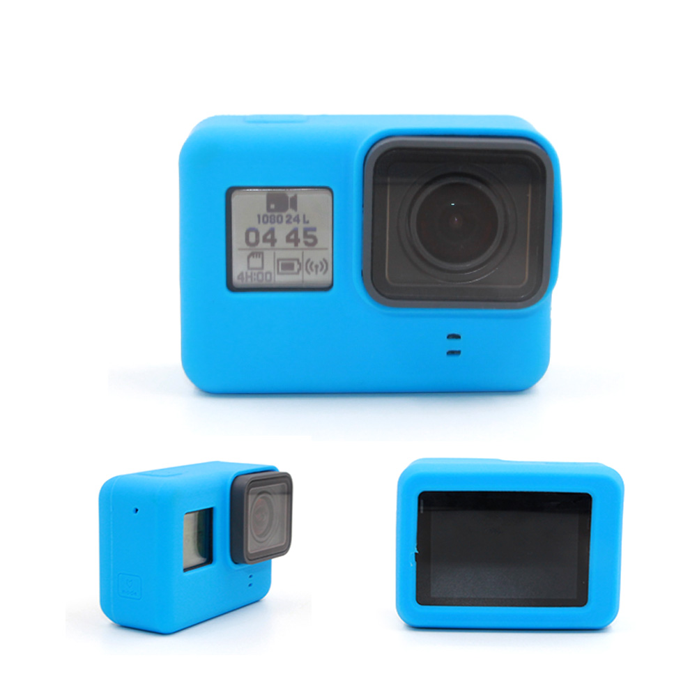 Silicone Case Housing for GOPRO HERO 6 5 Camera Frame Housing Rubber Cover Skin