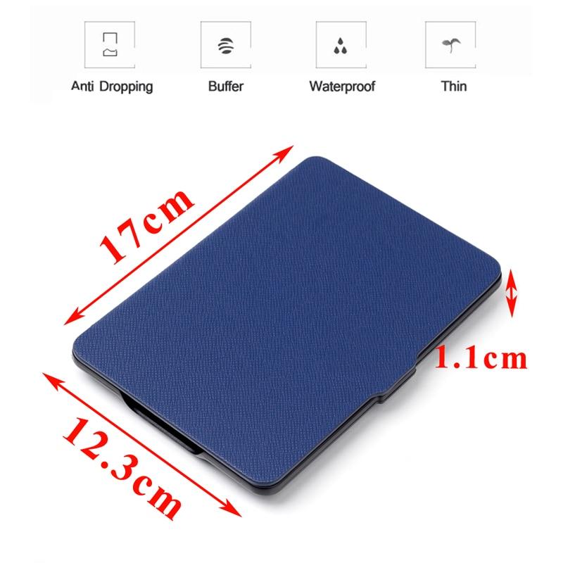 Amazon Kindle Paperwhite üçün Ultra İncə Qapaq Qutusu 1 2 3th 6 - Planşet aksesuarları - Fotoqrafiya 3