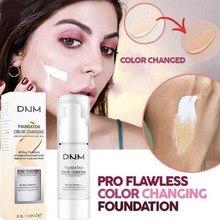 Makijaż twarzy nawilżający podkład zmiana temperatury kolor cerę płyn nawilżający fundacja krem korektor kosmetyki TSLM1