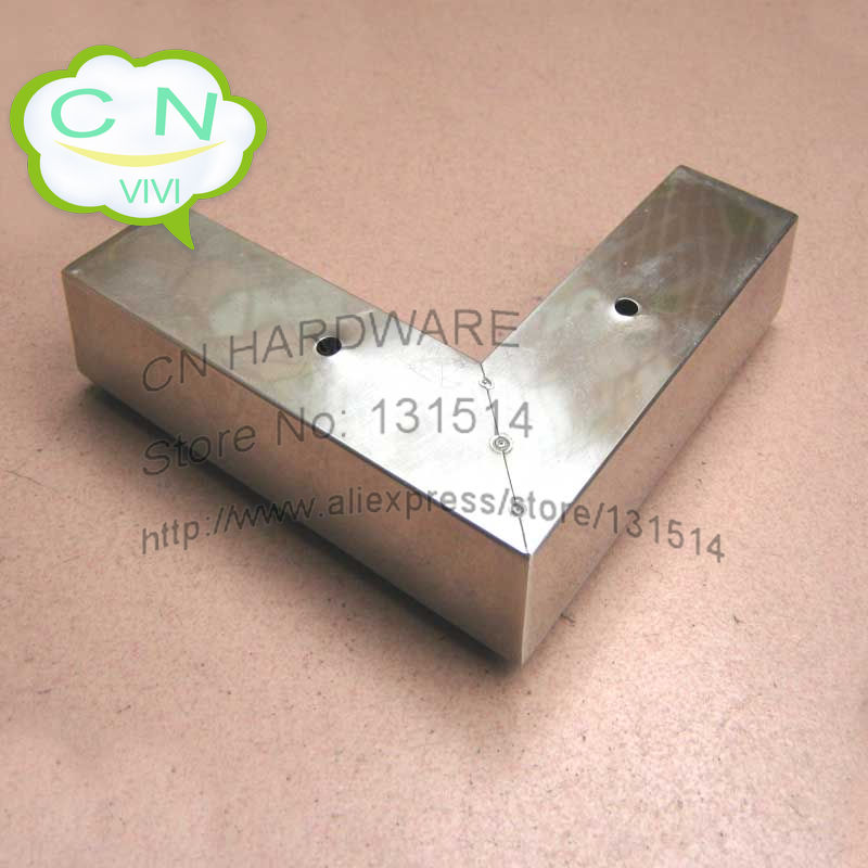 Furniture Legs Short height 4cm stainless steel sofa legs, cabinet or table foot, short