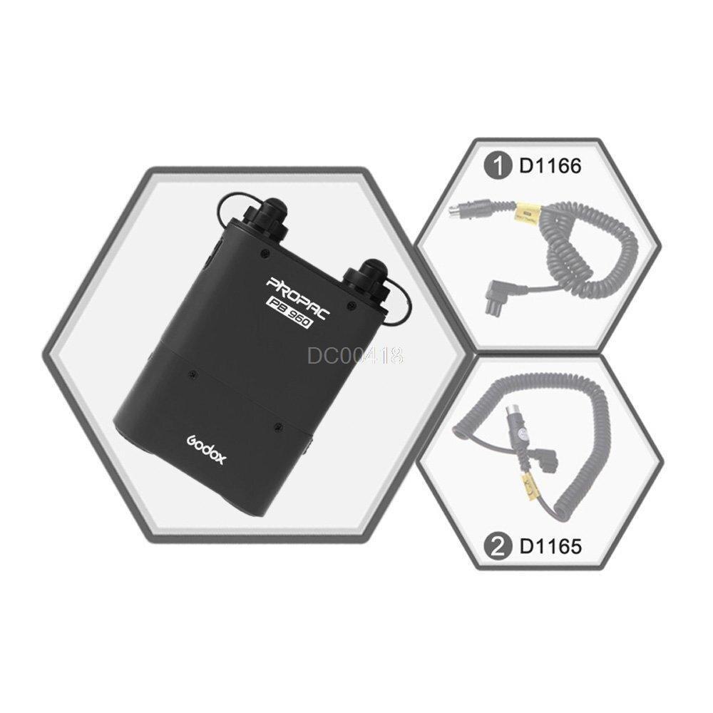 Godox PB960 Speedlite met dubbele uitgang Flash Power Battery Pack - Camera en foto - Foto 6