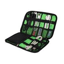 Elektronische Zubehör Veranstalter Tasche Für Festplatte Organisatoren Für Kopfhörer Kabel USB-Sticks Reise Fall Digitale Tasche