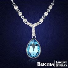Женское Ожерелье чокер с кристаллами swarovski