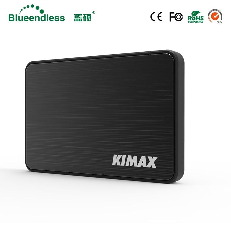 "Blueendless MR23K Пластик + Алюминий 2,5 ""жесткий диск SATA к USB 3.0 Кейс для жесткого диска без инструментов SSD адаптер для SSD жесткого диска Внешняя коробка"