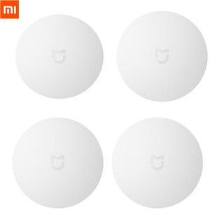 Image 1 - Gebundeld Verkopen Xiaomi Mijia Smart Draadloze Schakelaar Smart Home Apparaat Accessoires Huis Control Center Intelligente Voor Mihome App
