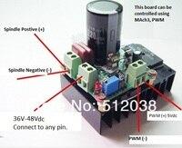 12V 24V 48V 110V , 5 v to 110 v DC Motor Speed Driver Controller PWM MACH3 Spindle Governor regulator