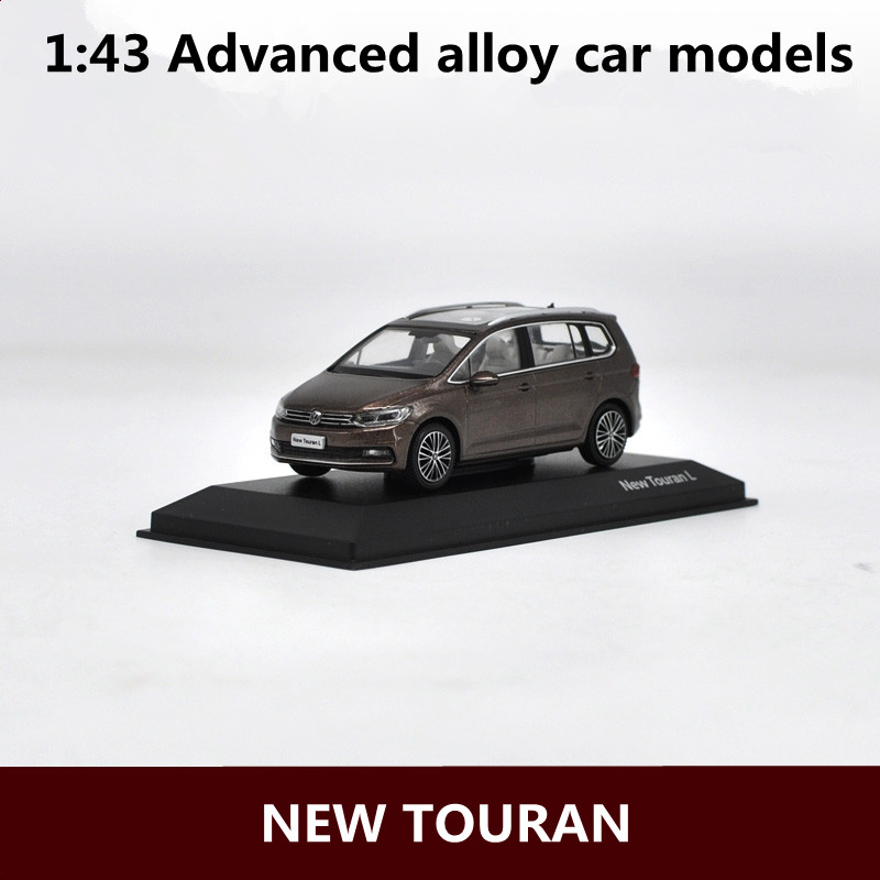 1:43 Advanced Alloy Car Models,high Simulation NEW TOURAN  L Model,metal Diecasts,children's Toy Vehicles,free Shipping
