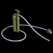 Free Shipping Pure Easy Portable 2000L Water Filter Kit Outdoor Camping Hiking Emergency Survival Gear Straw Purifier Cleaner