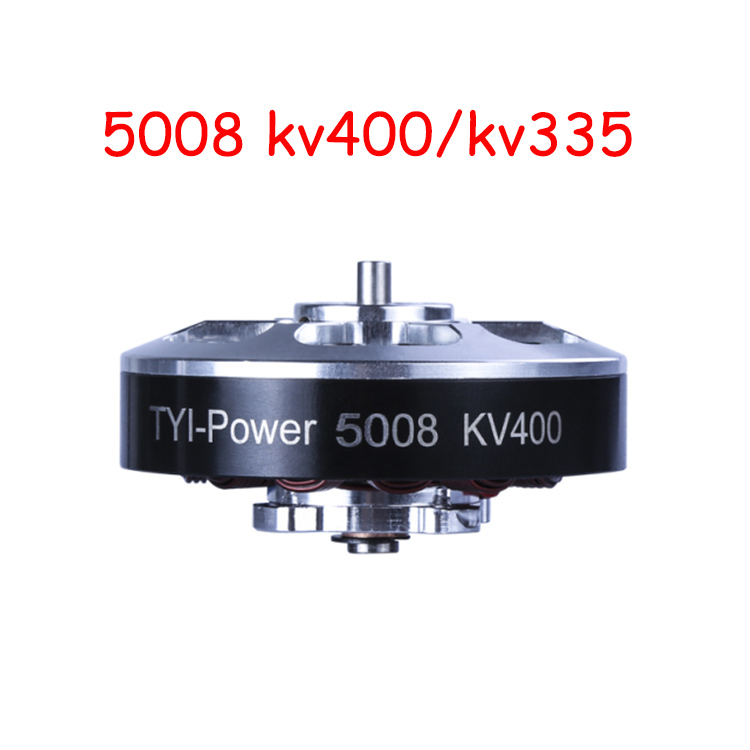 Hot Sale 6pcs 5008 Kv400/kv335 Brushless Outrunner Motor CW/CCW Rc Drone Accessories 4set lot universal rc quadcopter part kit 1045 propeller 1pair hp 30a brushless esc a2212 1000kv outrunner brushless motor