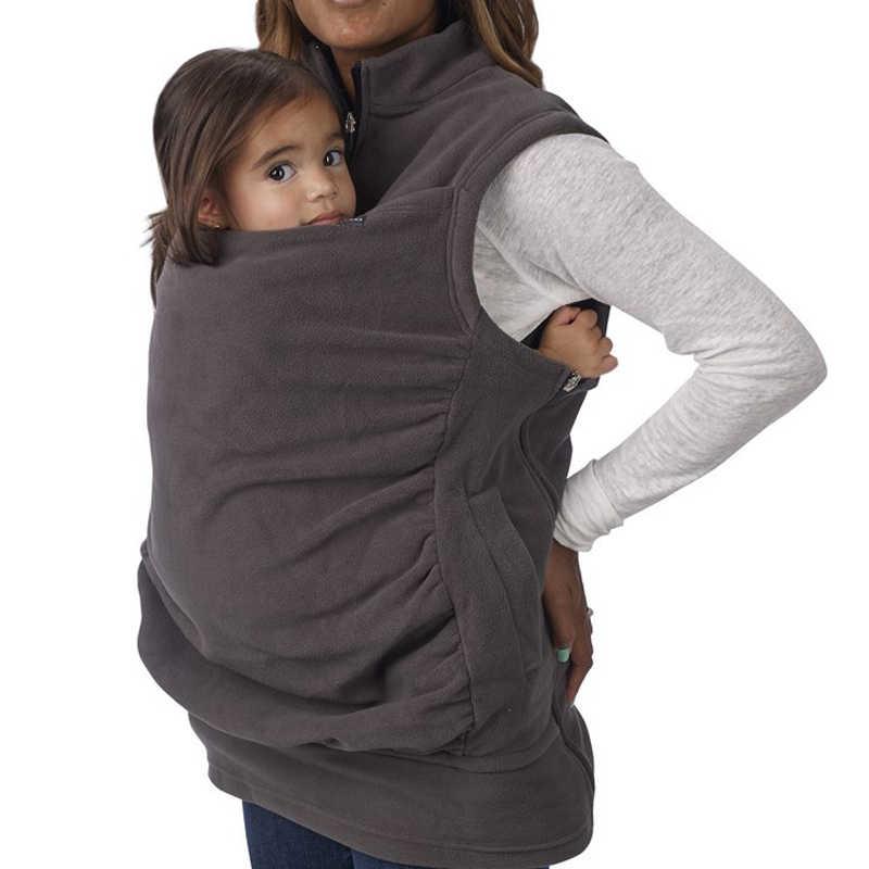 2018 แฟชั่นคลอดบุตรเลี้ยงลูกด้วยนม Hoodie ผู้หญิงจิงโจ้ Hoodie เสื้อกั๊กทนกว่าเสื้อแจ็คเก็ตสำหรับทารก