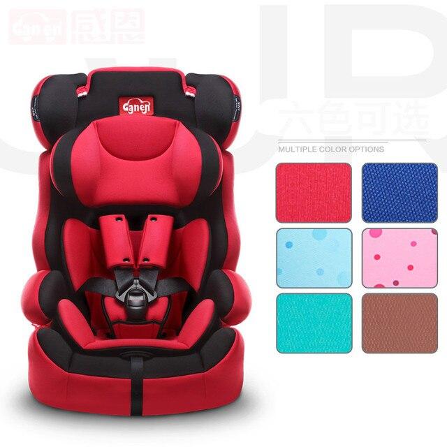 Высокое Качество Baby Car Безопасности Сиденья Амортизирующие Большой Сгущать Ребенок детей Сиденья Автомобиля Безопасности 5 Точечный Ремень Мягкие Детские Авто Seat C01